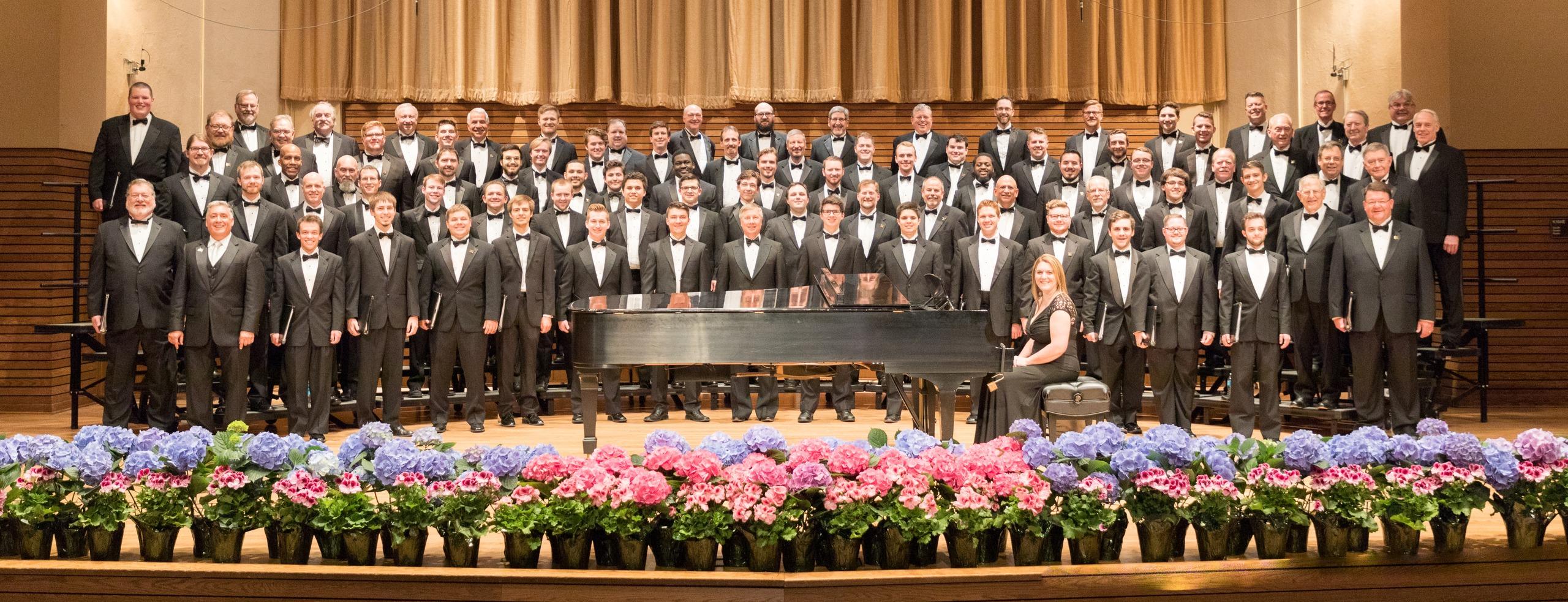 Baldwin Wallace University Men's Chorus at performance