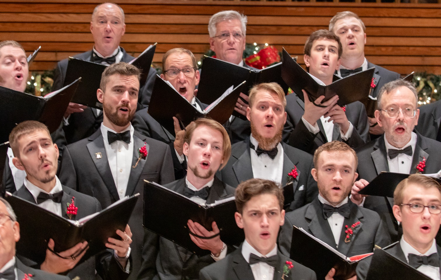 BW Men's Chorus Holiday Concert at Plymouth